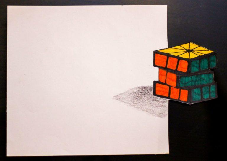 3D Art Rubik's Cube