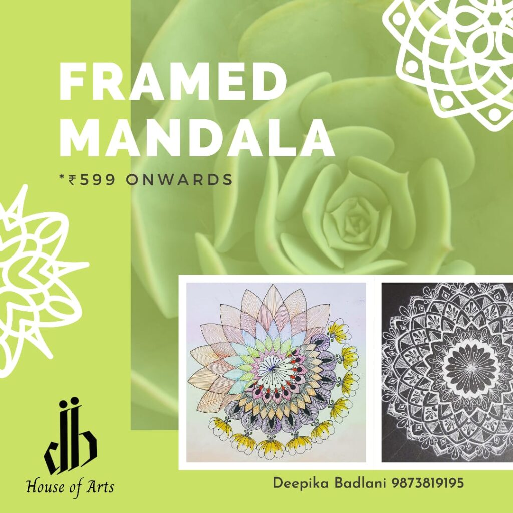 Framed Mandala Art